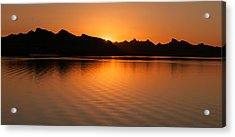 Lake Havasu Sunrise Acrylic Print