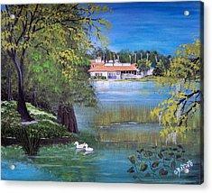 Lake Hollingsworth Landscape Acrylic Print