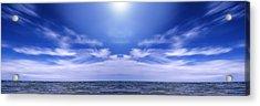 Lake Huron And Sky Acrylic Print by Vast Photography
