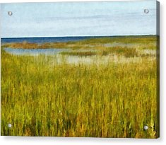 Lake Huron At Thunder Bay Acrylic Print