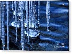 Lake Ice Acrylic Print
