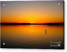 Lake Independence Sunset Acrylic Print