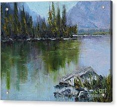 Lake Irwin Acrylic Print