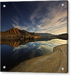 Acrylic Print featuring the photograph Lake Isabella  Mg_8082 by David Orias