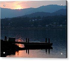 Acrylic Print featuring the photograph Lake J Sunset by Craig T Burgwardt