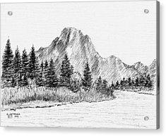 Lake Jackson Acrylic Print