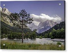 Lake Jasna Acrylic Print