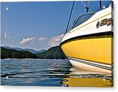 Lake Jocassee Acrylic Print by Frozen in Time Fine Art Photography