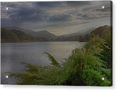 Acrylic Print featuring the photograph Lake Junaluska by Dennis Baswell