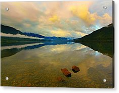 Lake Kaniere New Zealand Acrylic Print