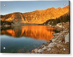 Lake Katherine Sunrise Acrylic Print
