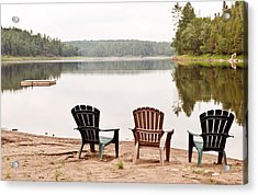 Acrylic Print featuring the photograph Lake Landscape by Marek Poplawski
