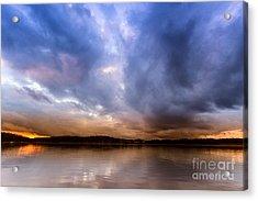 Lake Lanier Sunset Acrylic Print