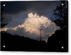 Lake Logan Thunderhead Acrylic Print