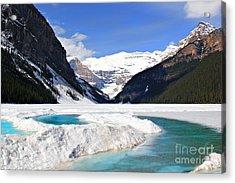 Lake Louise Canada Acrylic Print