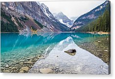 Lake Louise In Banff National Park Alberta Acrylic Print