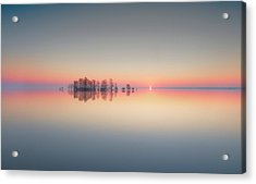Lake Mattamuskeet Memory Acrylic Print by Liyun Yu