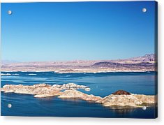Lake Mead Acrylic Print by Ashley Cooper