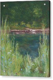 Lake Medina Acrylic Print