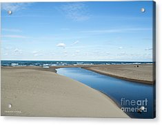 Lake Michigan Waterway  Acrylic Print
