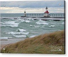 Lake Michigan Winds Acrylic Print