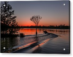 Acrylic Print featuring the photograph Lake Moultrie by RC Pics