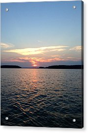 Lake Murray Sunset Acrylic Print