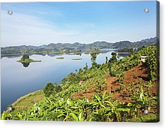 Lake Mutanda Near Kisoro In Uganda Acrylic Print