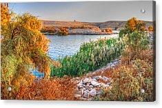 Lake Nasser Sunset Acrylic Print