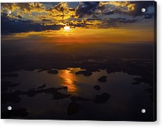 Lake Norman Sunrise Acrylic Print