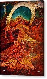 Lake Of Lava Acrylic Print