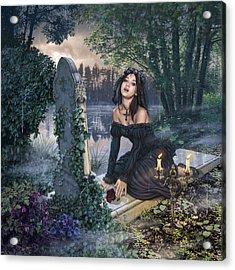 Lake Of Tears Acrylic Print by Steve Read
