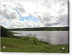 Lake Of The Prairies Acrylic Print by Ryan Crouse