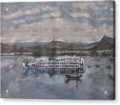 Lake Palace Acrylic Print