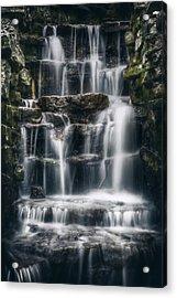 Lake Park Waterfall 2 Acrylic Print