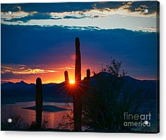 Lake Pleasant Arizona Acrylic Print