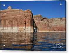 Lake Powell Cliffs Acrylic Print