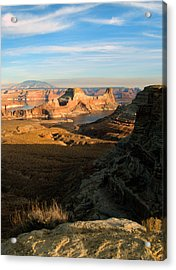Acrylic Print featuring the photograph Lake Powell From Alstrum Pt 02 by Jeff Brunton