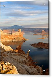 Lake Powell From Alstrum Pt 12 Acrylic Print