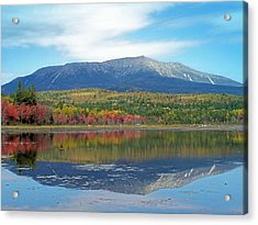 Acrylic Print featuring the photograph Lake Reflection by Gene Cyr