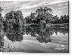 Lake Reflections Acrylic Print
