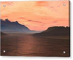 Lake Sunset 1 Acrylic Print