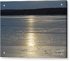 Lake Sunset 10 Acrylic Print by Ingrid L