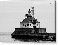 Lake Superior Lighthouse Acrylic Print by Brady Rasmussen