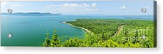 Lake Superior Panorama Acrylic Print by Elena Elisseeva