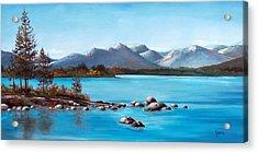 Lake Tahoe Blues Acrylic Print