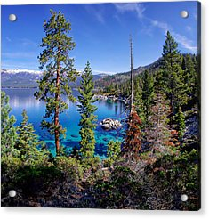 Lake Tahoe Eastern Shore Acrylic Print