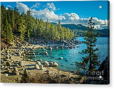 Lake Tahoe Hidden Cove Acrylic Print