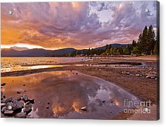 Acrylic Print featuring the photograph Lake Tahoe by Mae Wertz