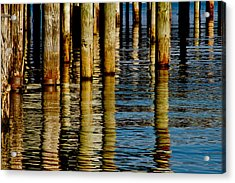 Lake Tahoe Reflection Acrylic Print by Bill Gallagher